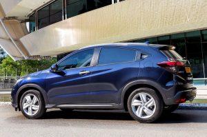 Обновленный Honda HR-V вид сбоку