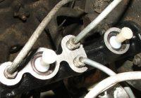 Замена главного тормозного цилиндра ВАЗ 2107 своими руками