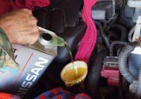 Замена масла в вариаторе Nissan Qashqai 2.0 1