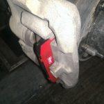 Уаз Патриот - замена тормозной колодки