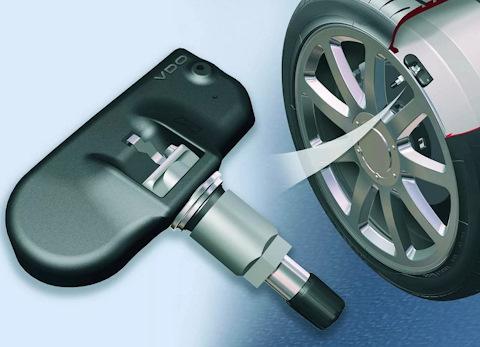 Установка датчика давления в шинах